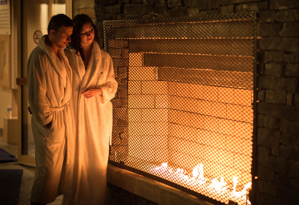 Fireside at Halcyon Hot Springs