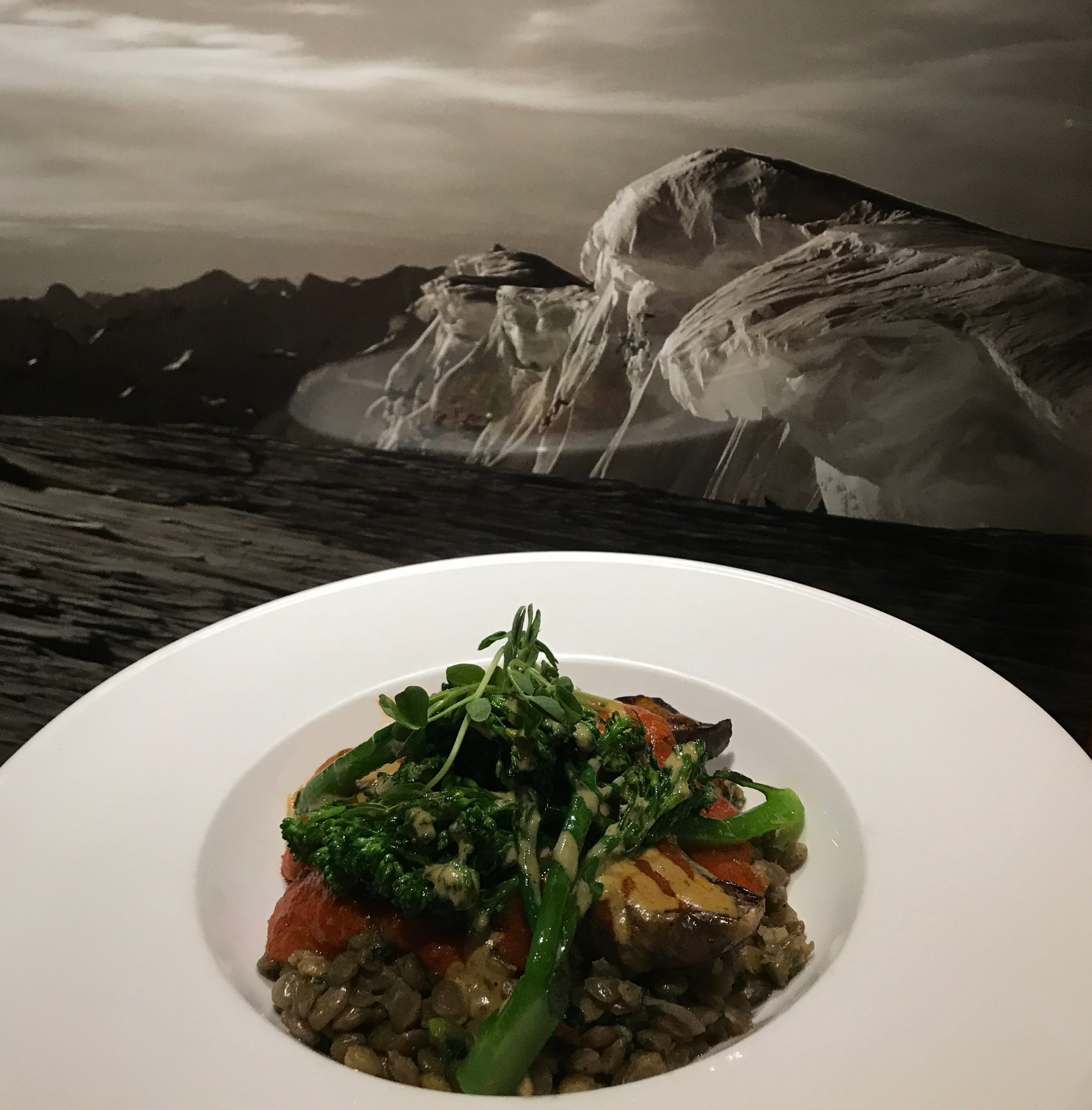Kingfisher Restaurant - Eggplant