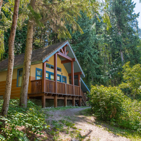 Picture of two-bedroom chalet exterior