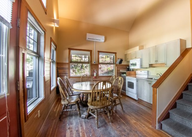 Picture of two-bedroom chalet kitchen