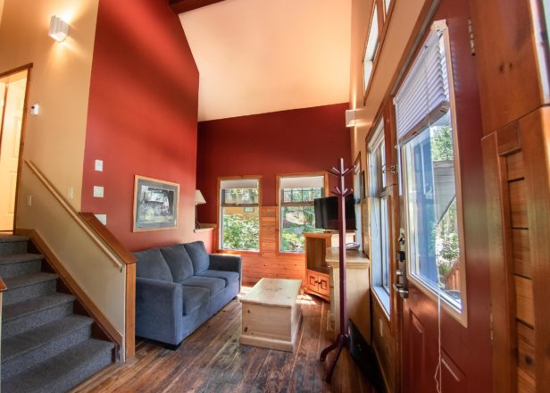 Picture of two-bedroom chalet living room