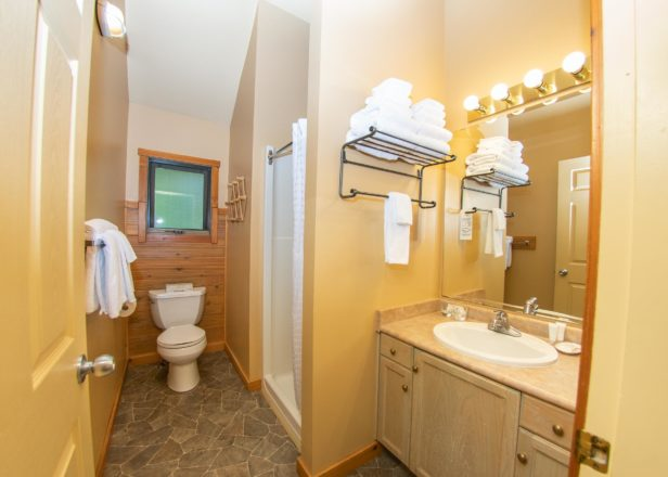 Picture of two-bedroom chalet bathroom