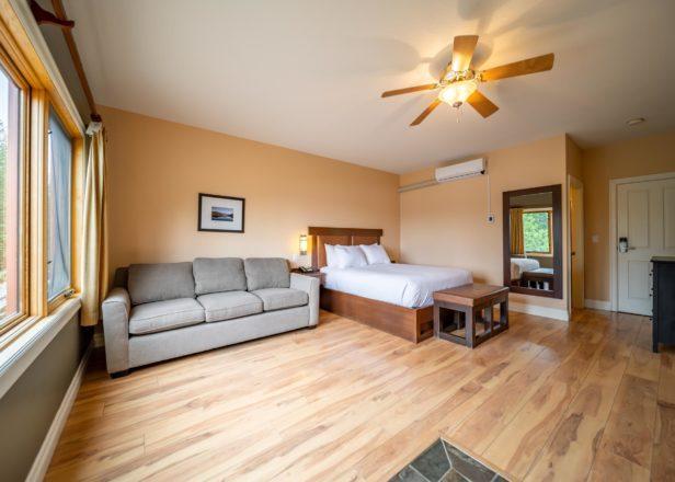 Picture of small studio suite interior