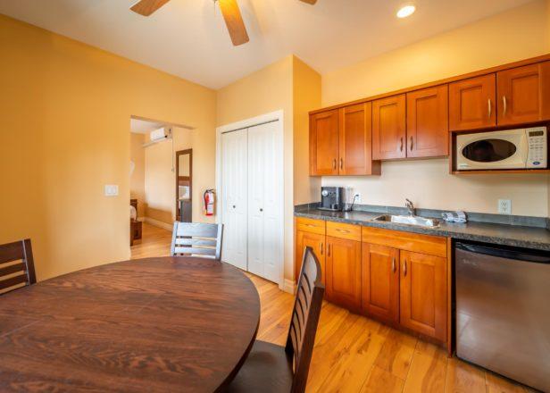 Picture of small studio suite kitchen