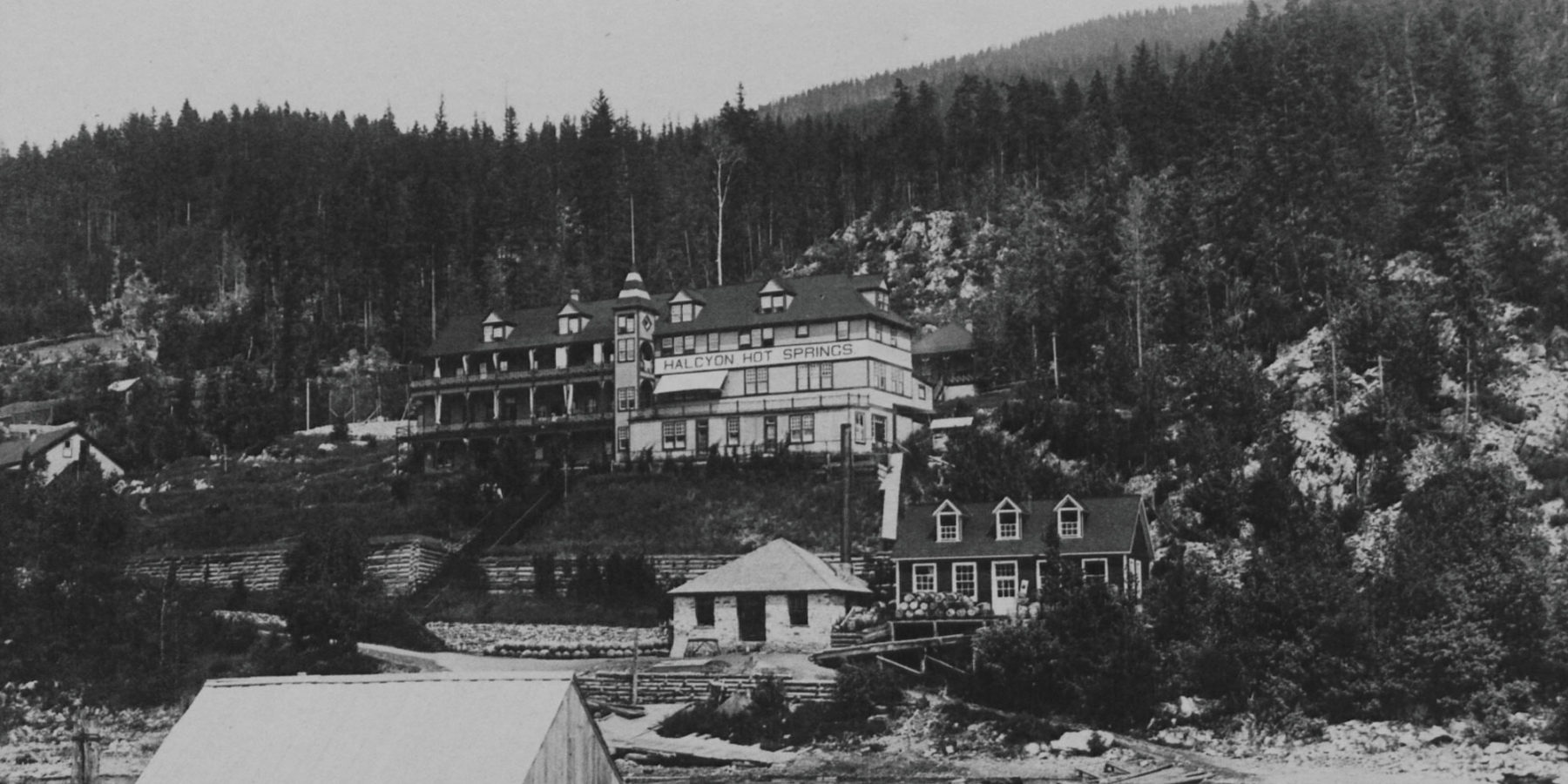 Image of Halcyon Hot Spring in 1908
