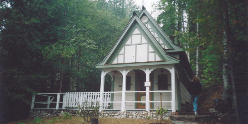 Recent picture of Halcyon Hot Springs chapel